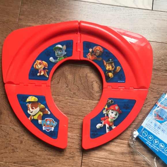 Pleasing Last Chancepaw Patrol Travel Potty Seat Ncnpc Chair Design For Home Ncnpcorg